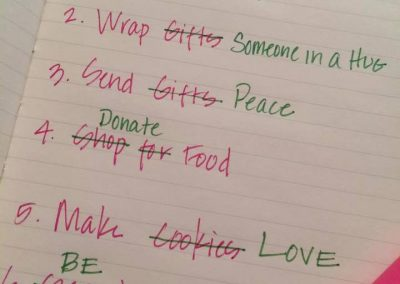 Holiday to do list by Start With The Heart